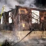 Kigyulladt egy családi ház a Técsői járásban
