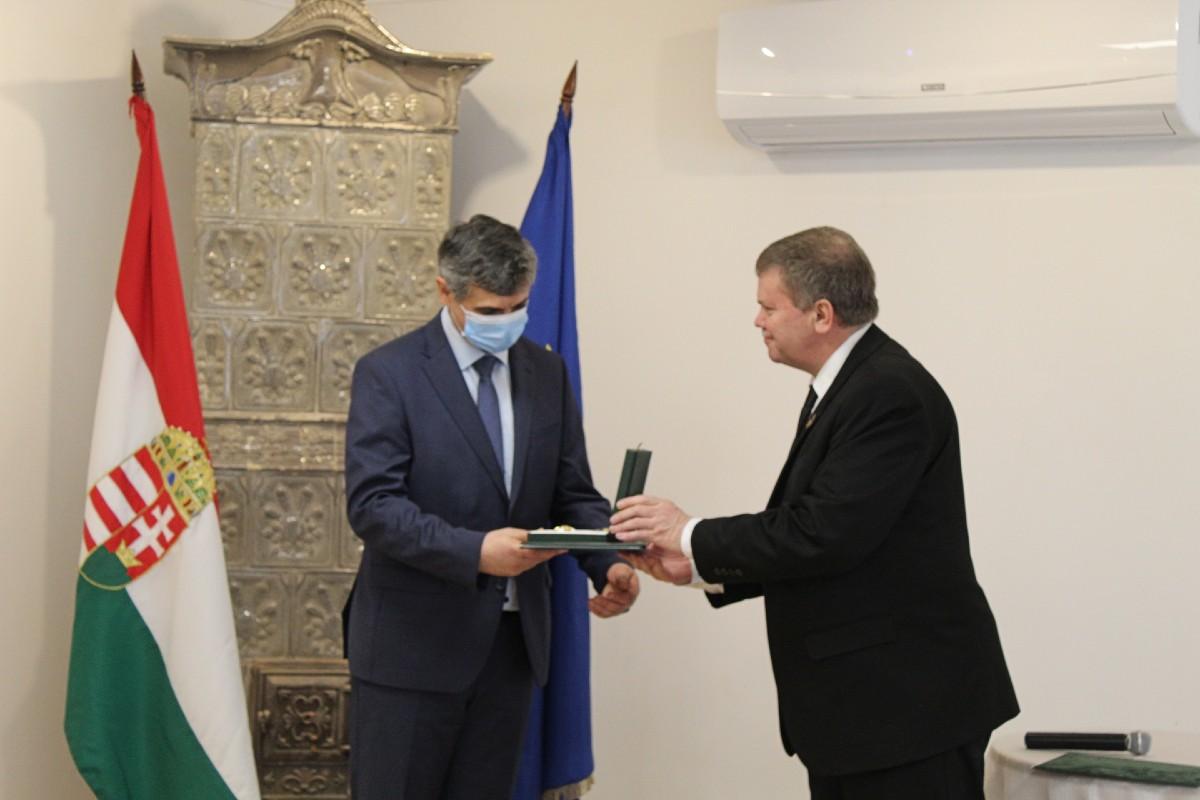 Csernicskó István kitüntetés