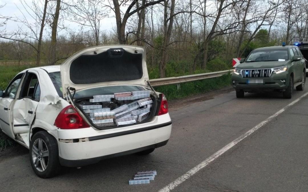 Ötezer doboz cigarettát találtak egy ukrán állampolgárságú férfinál Magyarországon