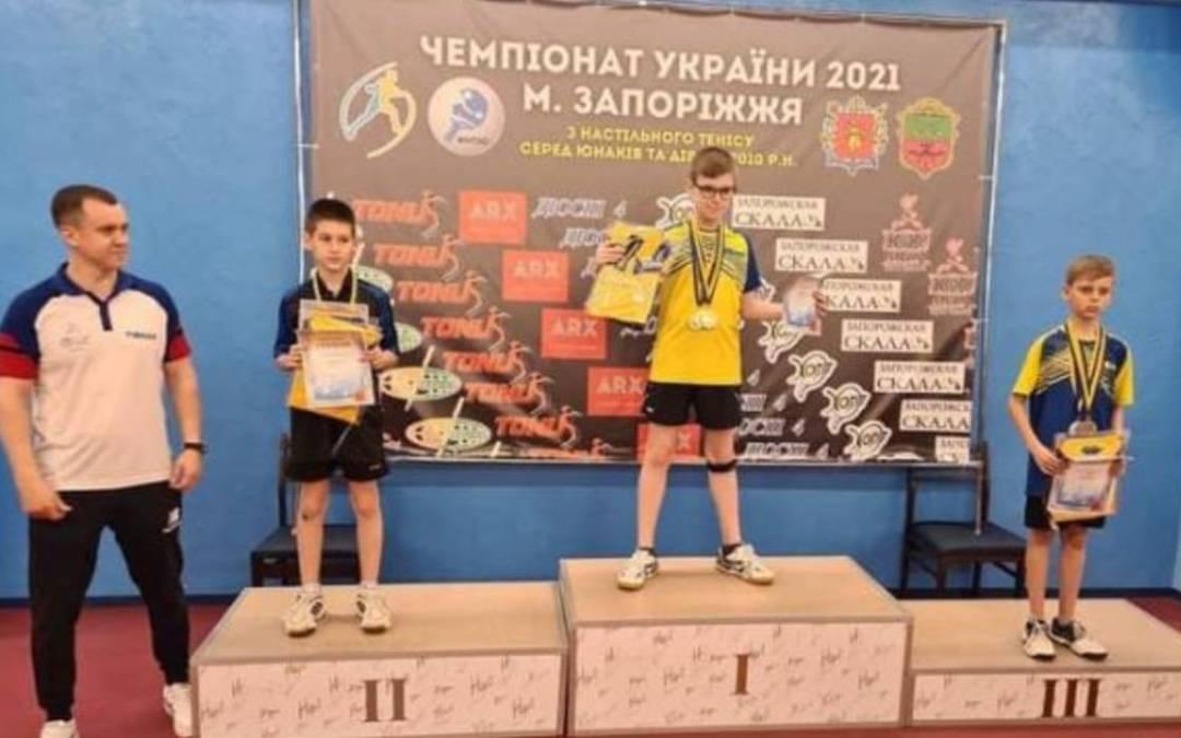 Kárpátaljai győzelem az országos asztalitenisz-bajnokságon