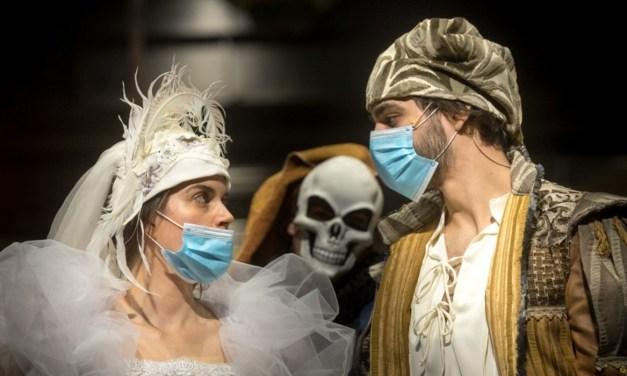 A járvány időszakát dokumentáló filmet forgattak a Nemzeti Színházban
