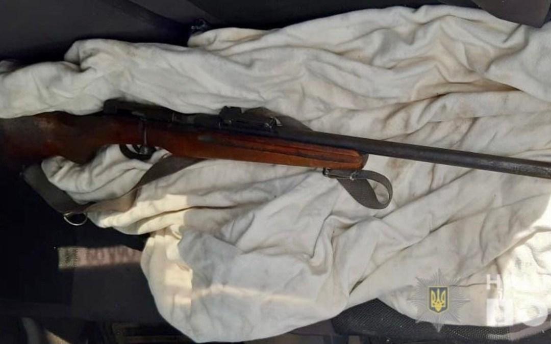 Fegyvert találtak egy férfinél Ilosván