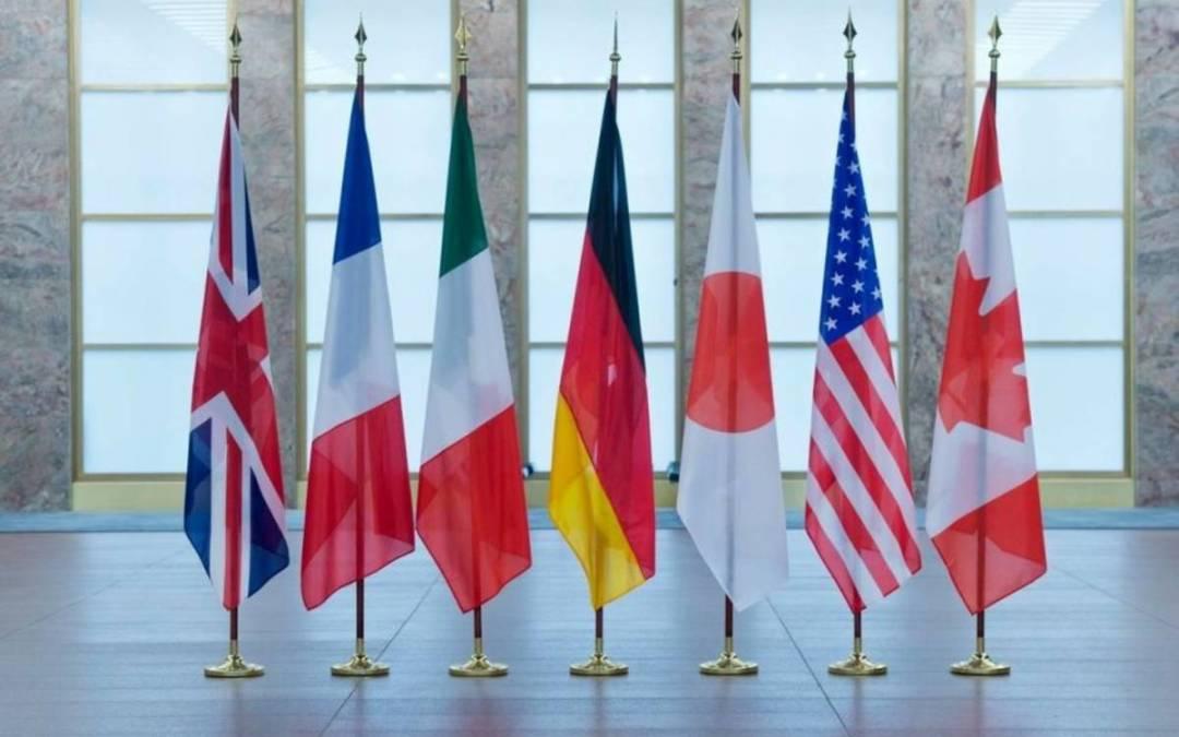 G7: Oroszország továbbra is felelőtlen, destabilizáló magatartást tanúsít