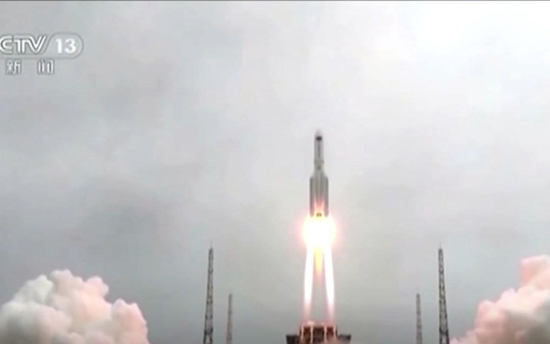 Az Indiai-óceánba csapódtak a kínai rakéta darabjai