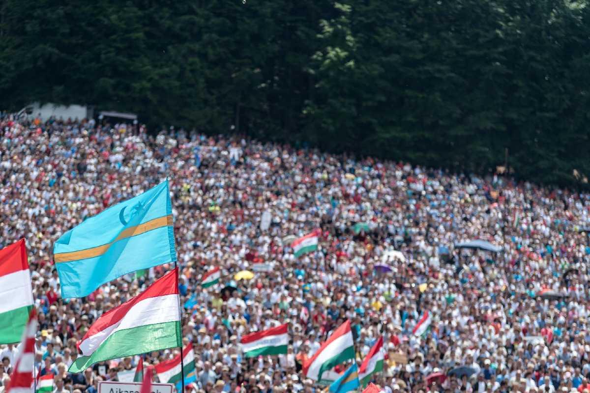 székely magyar zászló