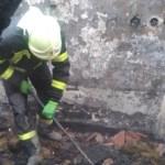 Égő házból mentették ki a tulajdonost a Munkácsi járásban