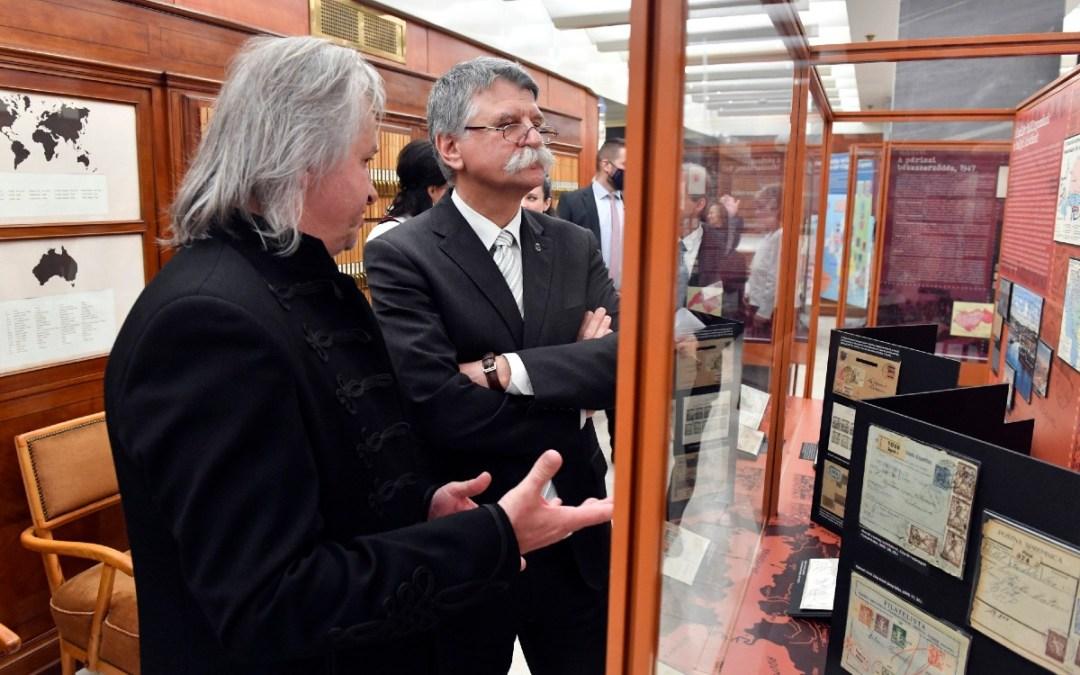 Trianonra emlékeztető kiállítás nyílt a Bélyegmúzeumban