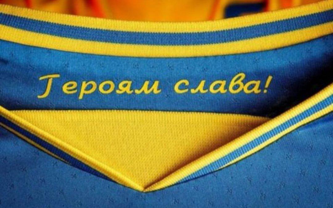 Betiltották a politikai indíttatású szlogeneket az ukrán válogatott mezén