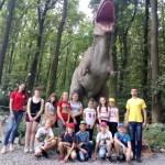 Ősvilági kaland – szakköri kirándulás a Dinó Parkba