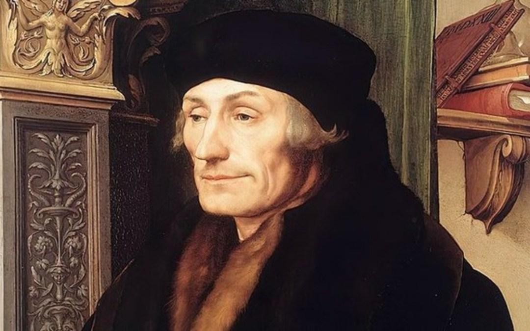 485 éve hunyt el Rotterdami Erasmus