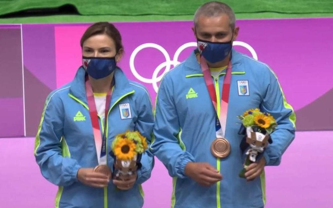 Tokió 2020: bronzérmes az ukrán duó a légpisztolyos vegyescsapat-versenyben