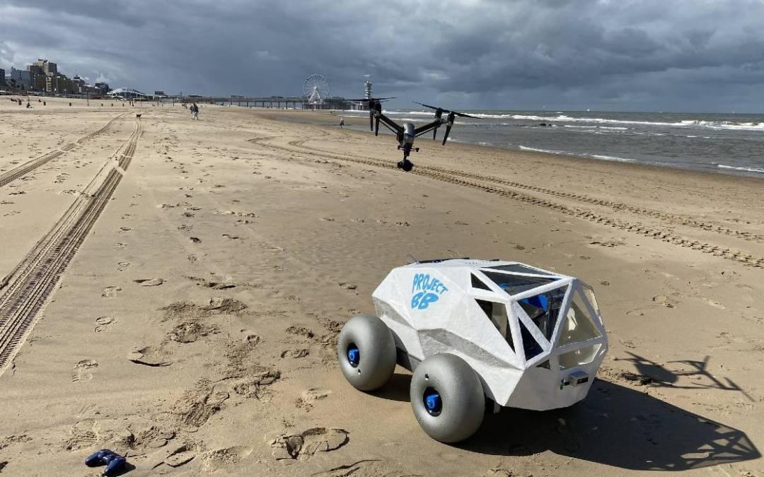 Cigarettacsikk-szedő robotot fejlesztettek Hollandiában