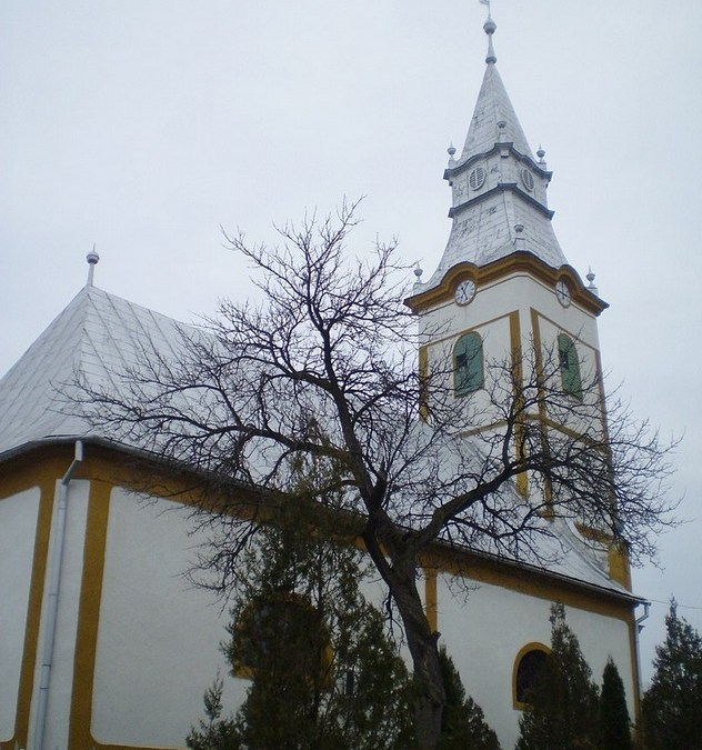 Kárpátalja anno: Beregújfalu református temploma