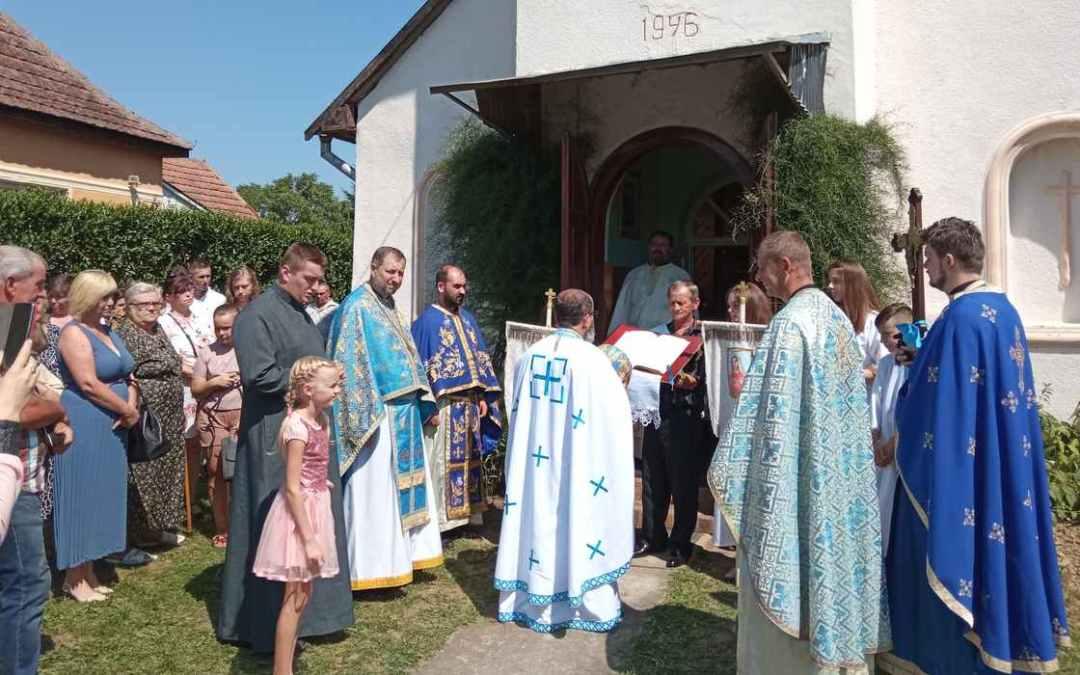 Görögkatolikus templombúcsút tartottak Nagyborzsován