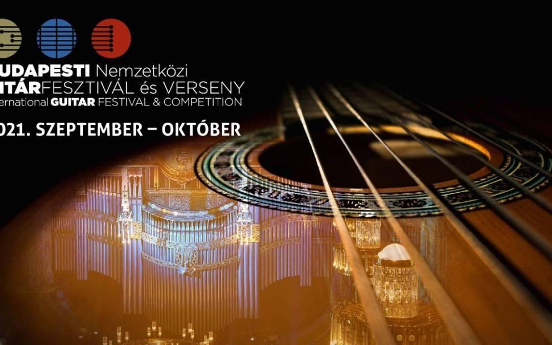 Online rendezik 3. Budapesti Nemzetközi Gitárfesztivált és Versenyt
