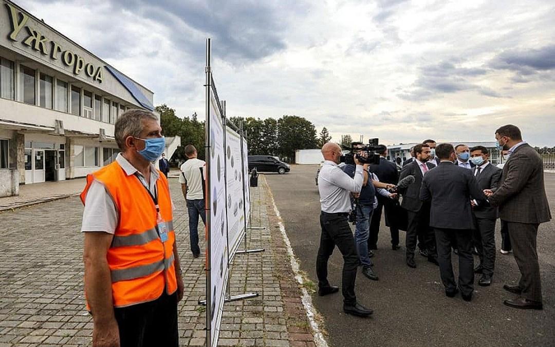 Új eszközökkel bővült az ungvári repülőtér