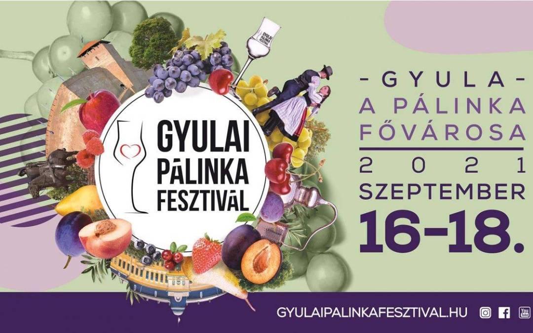 Szeptember közepén rendezik meg a 21. Gyulai Pálinkafesztivált