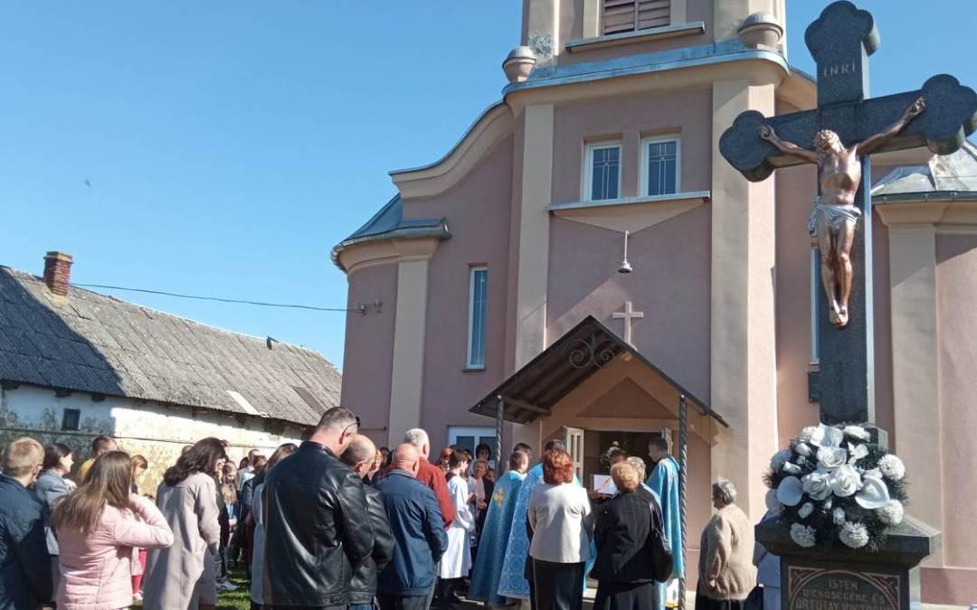 Görögkatolikus templombúcsút tartottak Gálocsban