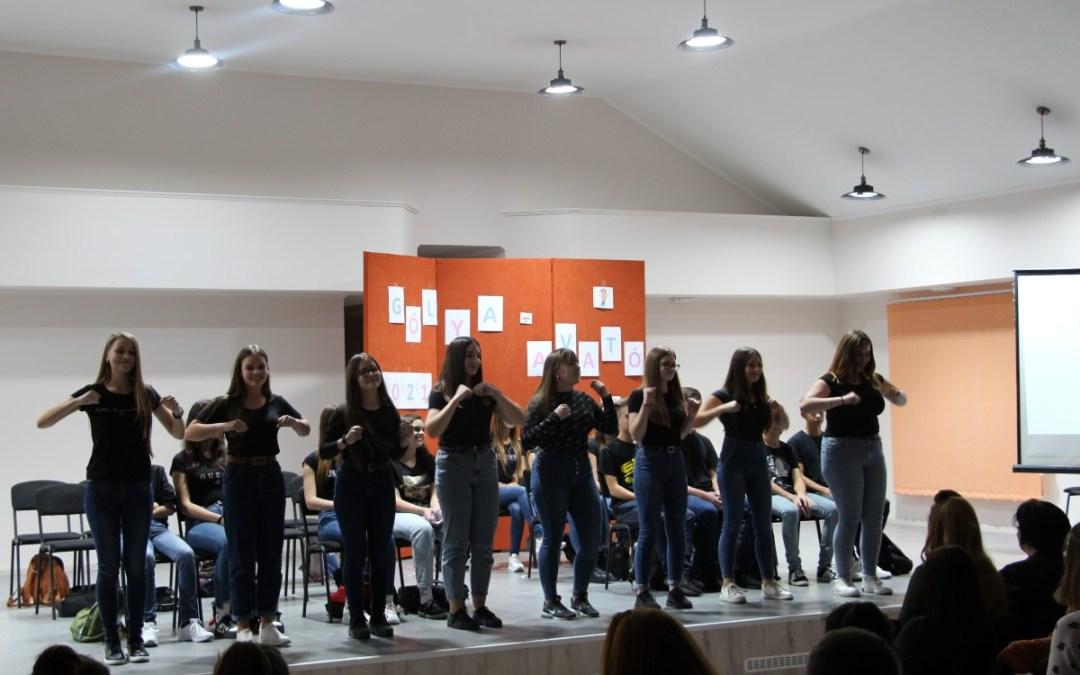 Gólyaavató ünnepség a Rákóczi-főiskola Szakgimnáziumában