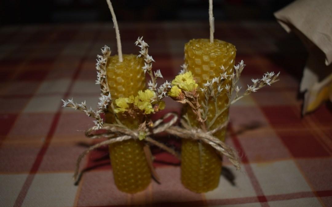 Kézműves gyertyák készültek a Nagyberegi Tájházban