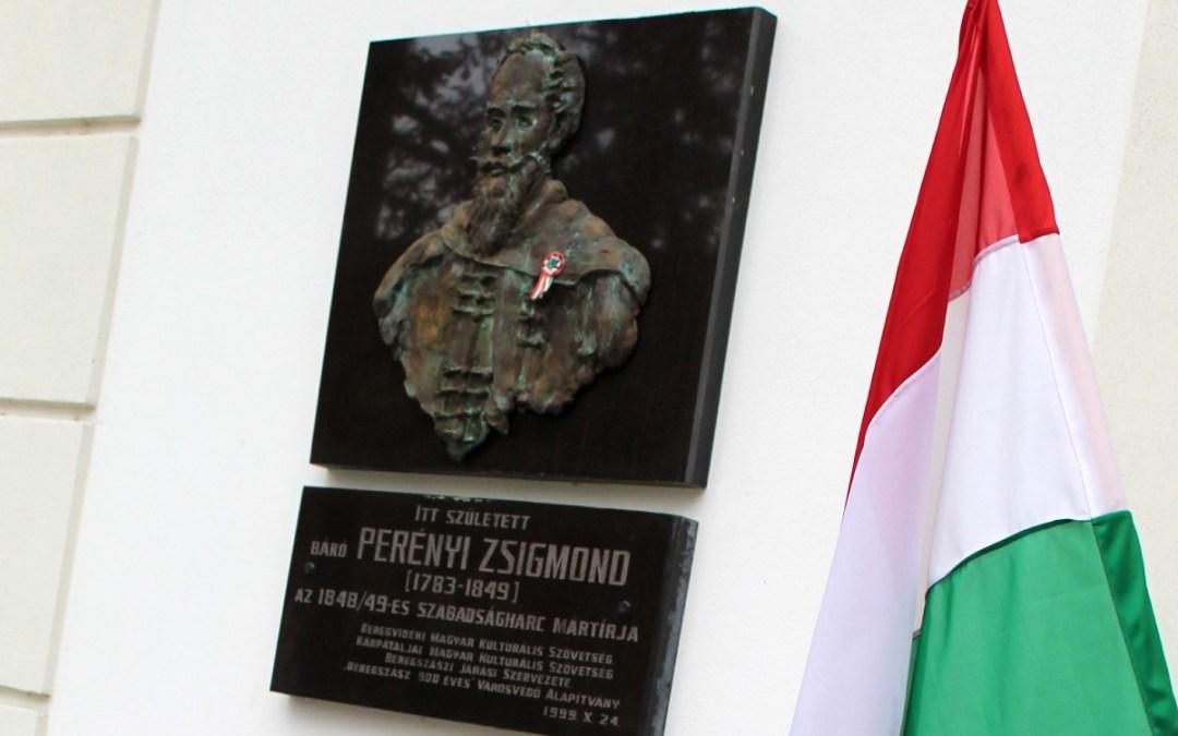 Báró Perényi Zsigmond mártírra emlékeztek Beregszászban