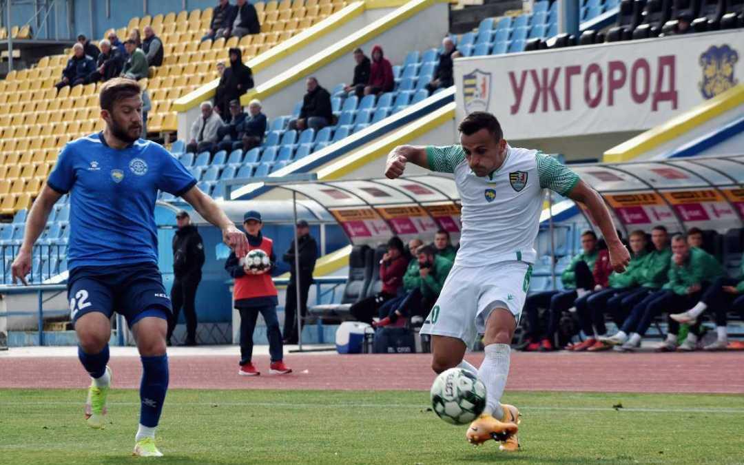 Ungvári döntetlen idegenben, minaji iksz az Avangardban