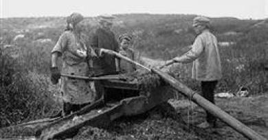 Открытие россыпного золота в Богословском горном округе. Первые годы.
