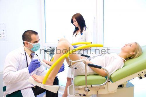 Результаты гинекологического осмотра