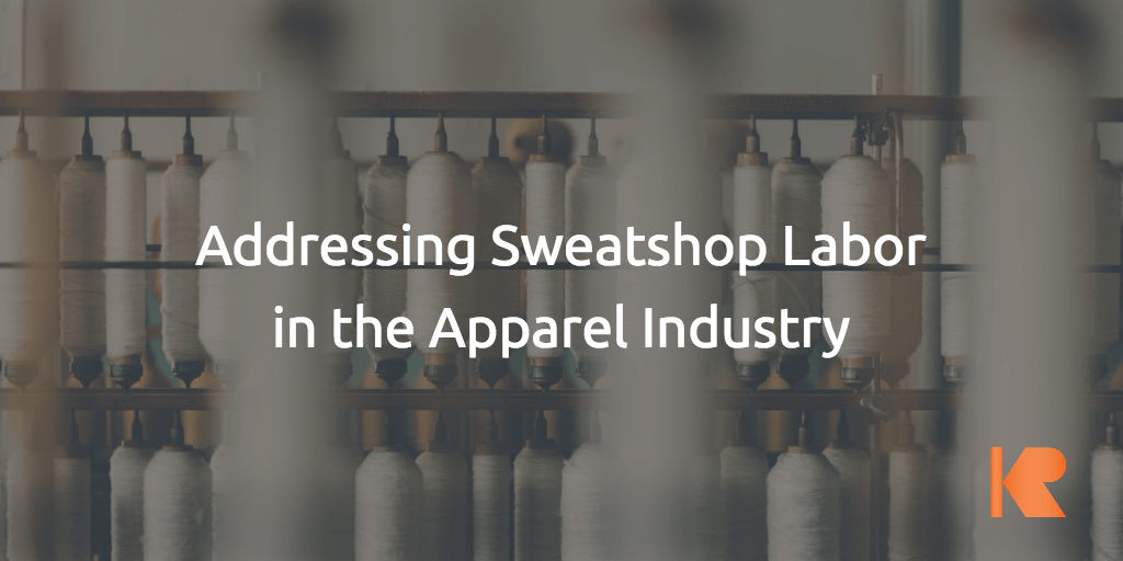 In the news: Sweatshops, Slavery and GCs