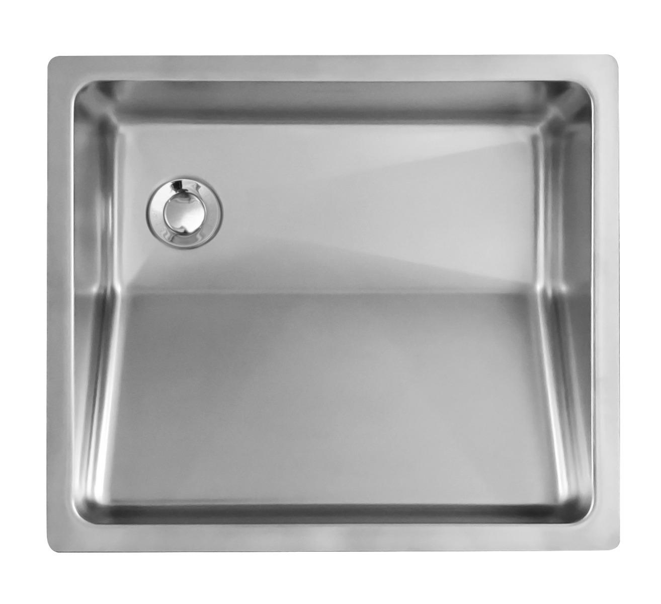 undermount stainless vanity sink