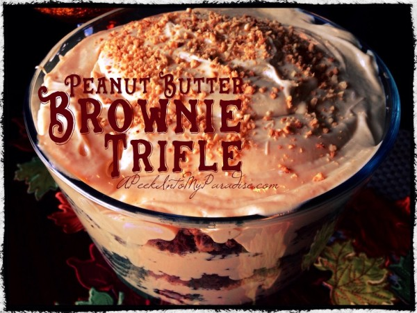 Peanut Butter Trifle Recipe A ppek into my paradise