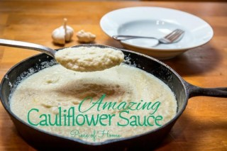 Amazing Cauliflower Sauce Pieces of Home