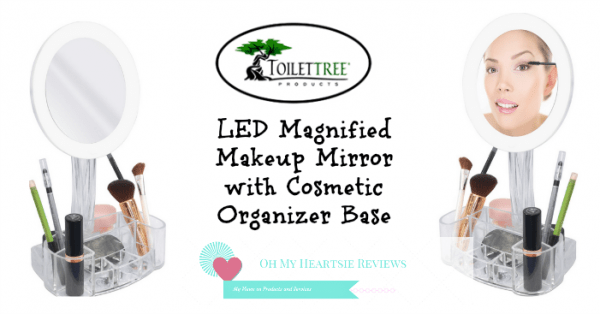 Toilettree Vanity LED Magnified Vanity Mirror Review