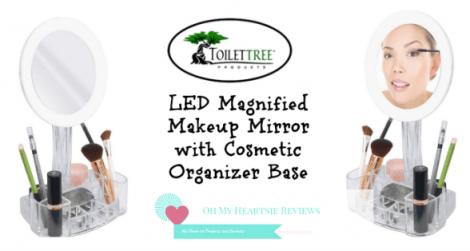 Toilettree Vanity LED Magnified Vanity Mirror Review