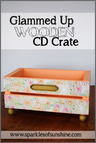 Glammed-Up-Wooden-CD-Crate-at-Sparkles-of-Sunshine