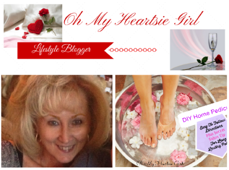 Oh My Heartsie DIY Pedicures