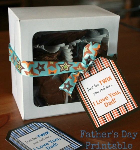 Summer Scraps Fathers Day Printable and Fudge 5-26