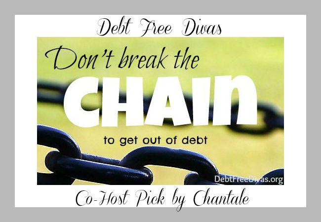 Debt Free Divas Dont-Break-the-chain