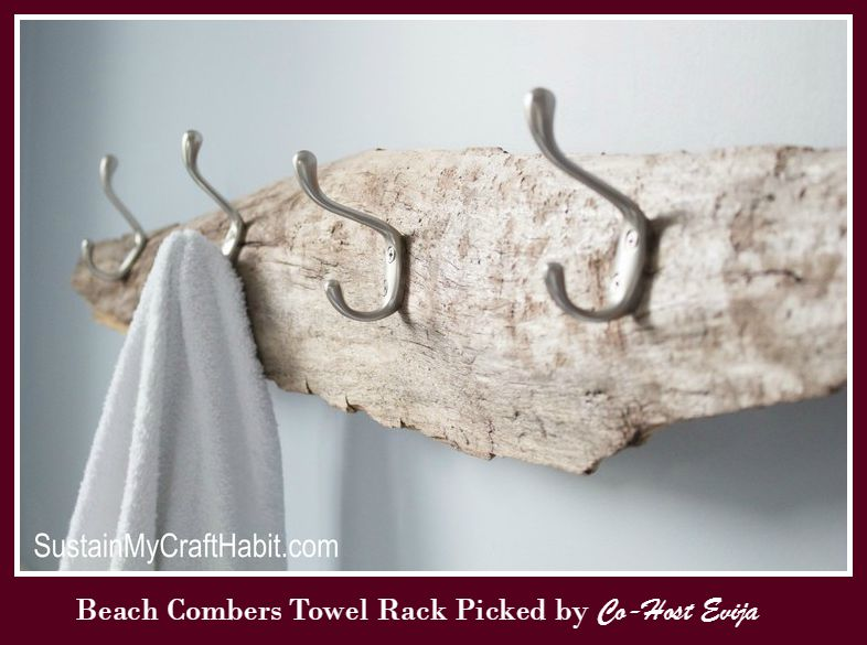 Driftwood+beachy+towel+rack-+SustainMyCraftHabit -Evija-