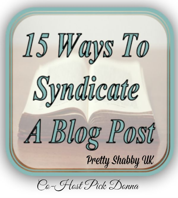 15 ways to syndicate your blog