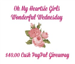 Oh My Heartsie Girl's PayPal Cash Giveaway