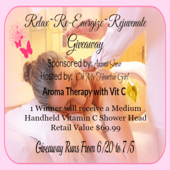 Relax~ Re-Energize~ Rejuvenate Giveaway