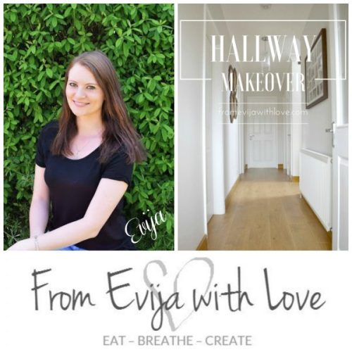 Hallway Makeover-From Evija With Love