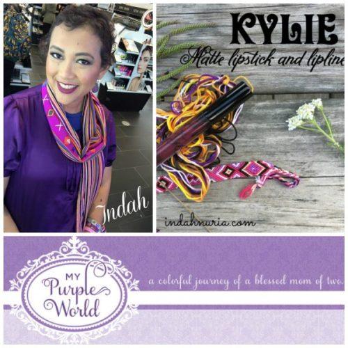 Kylie Matte Lipstick-My Purple World