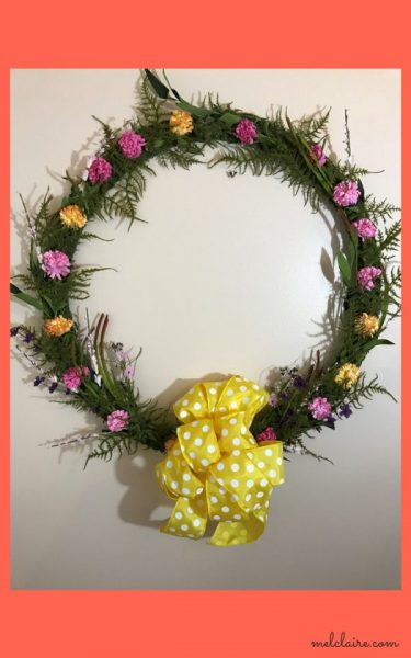 Featured Pic By Karren Oh My Heartsie Girl Mel Claire Spring Wreath