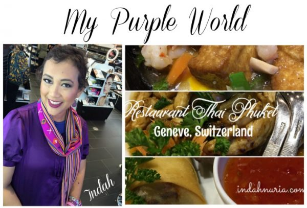 My Purple World Thai Phuket Restaurant In Geneve