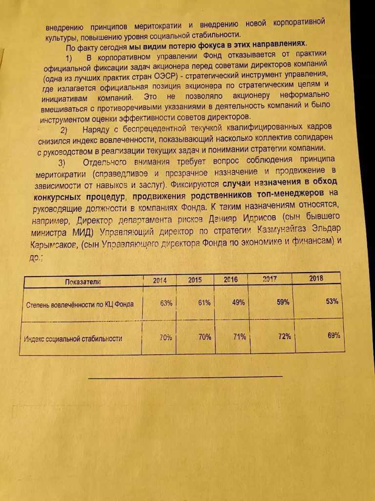 Галимжан Есенов и Ахметжан Есинов вымели Самрук-Казыну