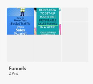 pinterest marketing empty boards