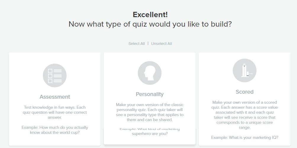 chose category