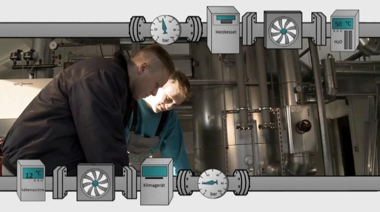 Anlagenmechaniker-in für Sanitär-, Heizungs- und Klimatechnik in der Ausbildung